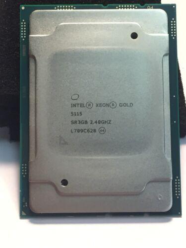 Intel Xeon Gold 6134 3.2ghz 24.75m 8 Core Fc-lga14b Cpu Processor Sr3ar ***