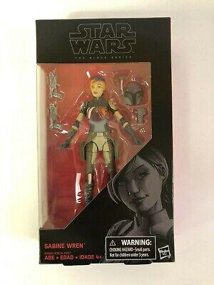 """Star Wars Black Series 6"""" Sabine Wren Action Figure Brand New #33"""