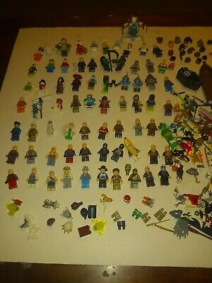 LEGO minifigure lot of 70 ninjago City Chima Monster fighters  plus accessories