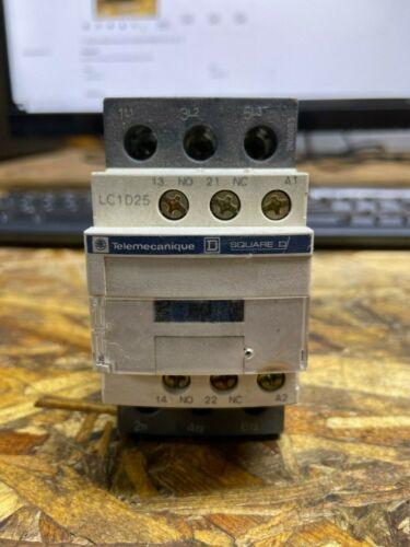 TELEMECANIQUE SQUARE D Electric Contactor LC1D25