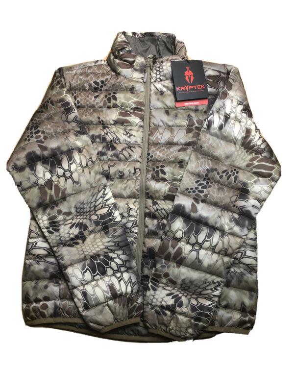 Kryptek Cirius Down Jacket Highlander Hunting Camo  18CIRJH4 VARIETY SIZES