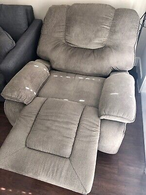 Oversized Recliner Large Mens Leather Wide Adult Single Best Chair with Storage