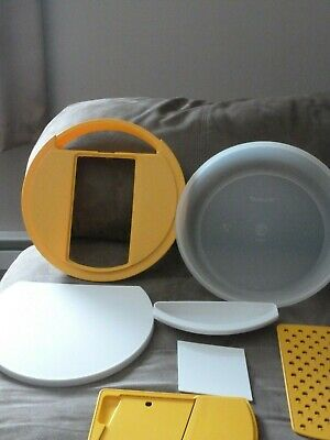 - Tupperware 7 Pc. Kitchen Work Center 1831 / 1833 / 1840 Cut Grate Slice Mandolin