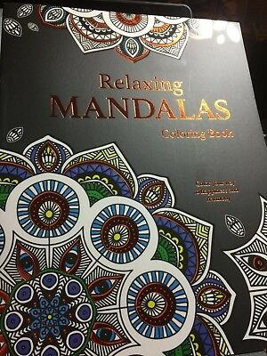 RELAXING MANDALAS COLORING BOOK BRAND NEW ADULT DREAMS ART PEACEFUL CREATIVE - Mandalas Coloring