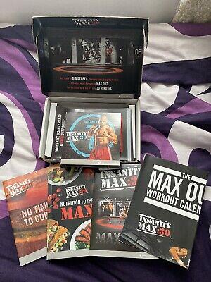 Beachbody Insanity Max:30 10 DVDs Base Kit - NEW SEALED