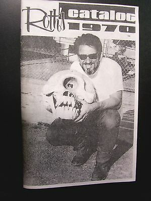 Rat Fink Ed Big Daddy Roth -Catalog from 1970