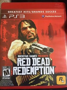 PS3 RED DEAD REDEMPTION video game