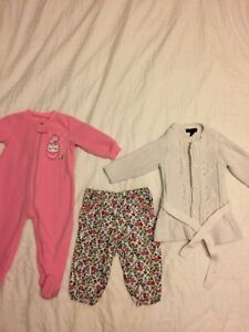 Baby girl 12 months items