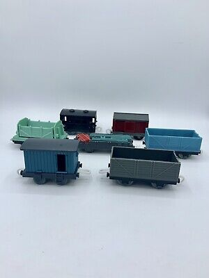 Thomas & Friends Trackmaster For Motorized Sets Empty Cargo Cars Dump Brake Vans