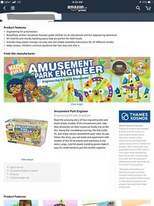 Kids First Amusement Park Engineer (New)
