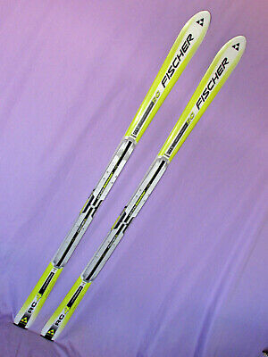 Fischer Racing RC4 World Cup SC race skis 166cm with Power Vacuum race risers ~~ ()