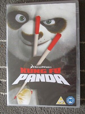 KUNG FU PANDA *DVD* JACK BLACK *FAMILY FILM * NEW AND SEALED