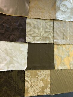 Patchwork pieces - craft supples - queen size quilt cover