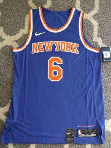 48 Large NBA Nike Kristaps Porzingis New York KNICKS AUTHENT