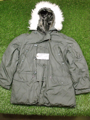 Extreme Cold Weather Coat - NEW US Army Military Extreme Cold Weather N-3B Snorkel Parka Jacket Coat M Torn