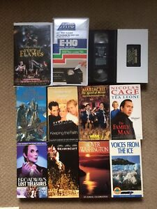 VHS VCR Video Tapes New & Used.