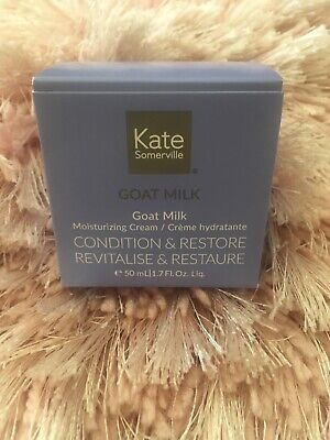 KATE SOMERVILLE 💖 GOAT MILK MOISTURISING CREAM ~50ml~ RRP £55~ Genuine & Fresh