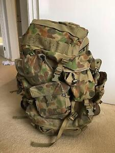 Military ADF Army Backpack Genuine Issue w/ Alice Frame Cranbourne Casey Area Preview