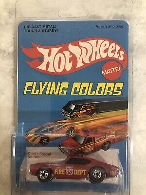 1975 HOT WHEELS Flying Colors CHIEF'S SPECIAL Redline 7665 FLYING COLORS Nice!!