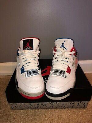 Retro Air Jordan 4 What The 4s Shoes (100% Authentic) Size 13 Brand New na sprzedaż  Wysyłka do Poland