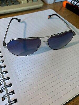 HUGO BOSS ORANGE BO 0046/S DK 60 Gunmetal Aviator Sunglasses Free (Boss Orange Aviator Sunglasses)