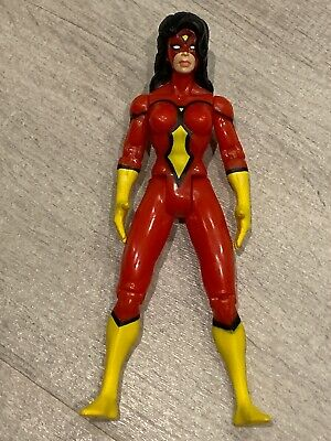 Spider Man Jessica Drew (Spider-Woman (Jessica Drew) -1994 The Amazing Spider-Man Action Figure -)