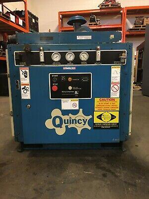 Quincy Model Qma75aca31g 75hp Rotary Screw Air Compressor