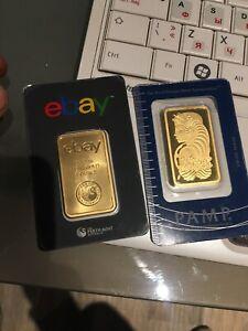 Pure gold bars 24k