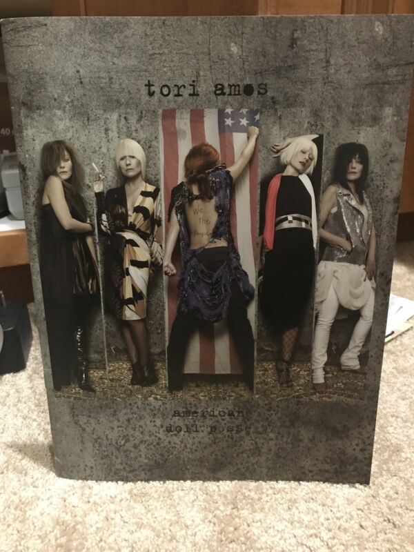 RARE Tori Amos American Doll Posse TOUR PROGRAM Collectible Book