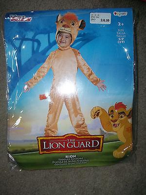 Disney Lion King Lion Guard Kion custome dress up boys 2T New