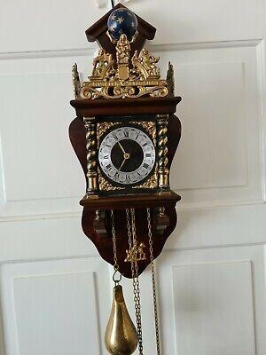 Warmink Zaanse Atlas Wall Clock Working Order