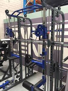 FUNCTIONAL TRAINER POWER CAGE RACK & SMITH GYM LAT CABLE CROSS Castle Hill The Hills District Preview