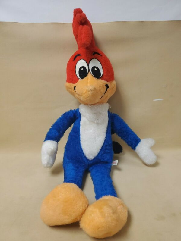 "Vintage Woody Woodpecker By California Stuffed Toys Large 30"" Plush Doll Figure"