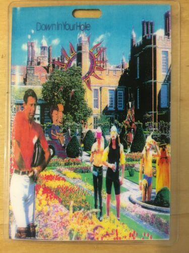 ALICE IN CHAINS DIRT TOUR LAMINATE BACKSTAGE SUPER RARE LAYNE STALEY 1993 RARE!!