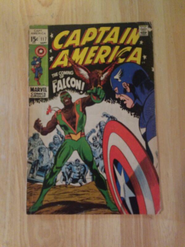 Captain America Vol.1 #117 - 1ST App Sam Wilson a/k/a The Falcon G+