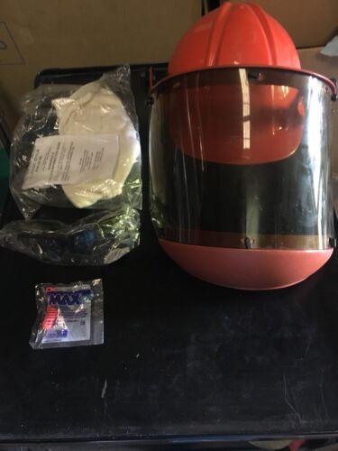 Salisbury Helmet Safety Glasses Ear Plugs Walls Coveralls Orange