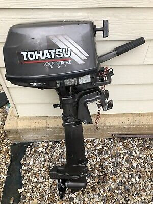 Tohatsu 6hp 4 Stroke Outboard Engine