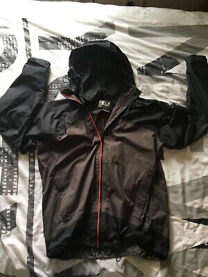 Jack Wolfskin XXL (48) Texapore Waterproof Breathable Packable , black and grey