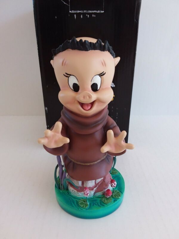 Looney Tunes - Porky Pig As Friar Tuck Figurine By Grand Jester (NEW)