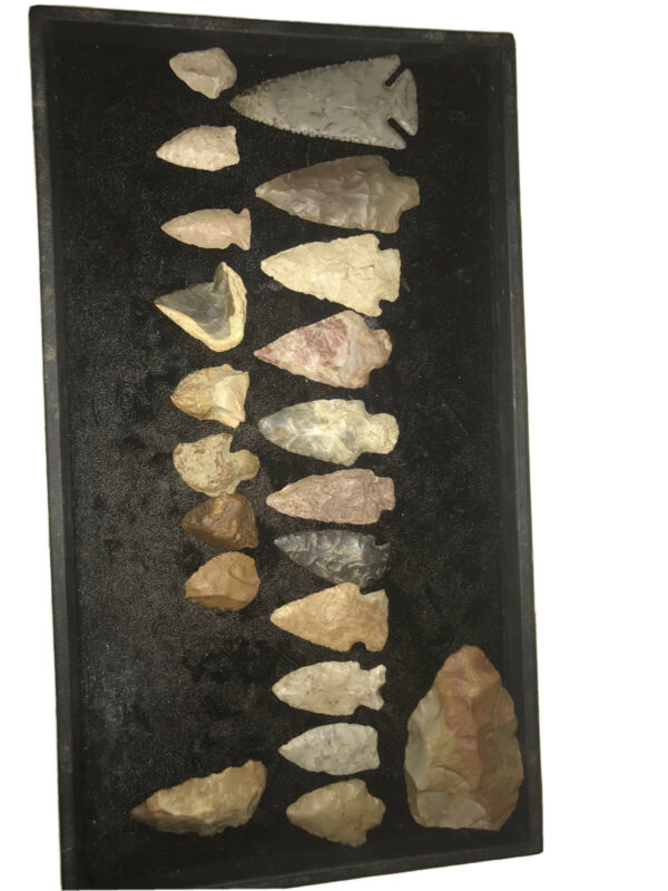 authentic arrowheads pre 1600