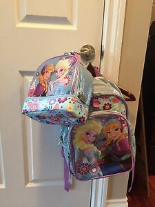 Frozen backpack and lunch kit