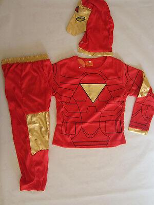 COSPLAY IRONMAN CLASSIC Kids Costumes Sizes 2-10 BRAND - Iron Man Dress Up 2