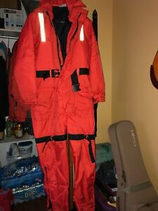Mustang Survival Floater suit size SMALL