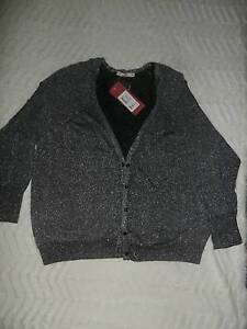 Cardigan Silvery Shimer Black Silver Tuart Hill Stirling Area Preview