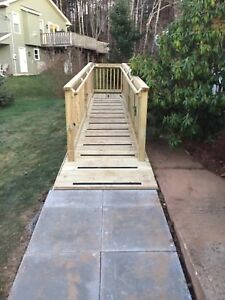 Decks and Fences built by professionals.