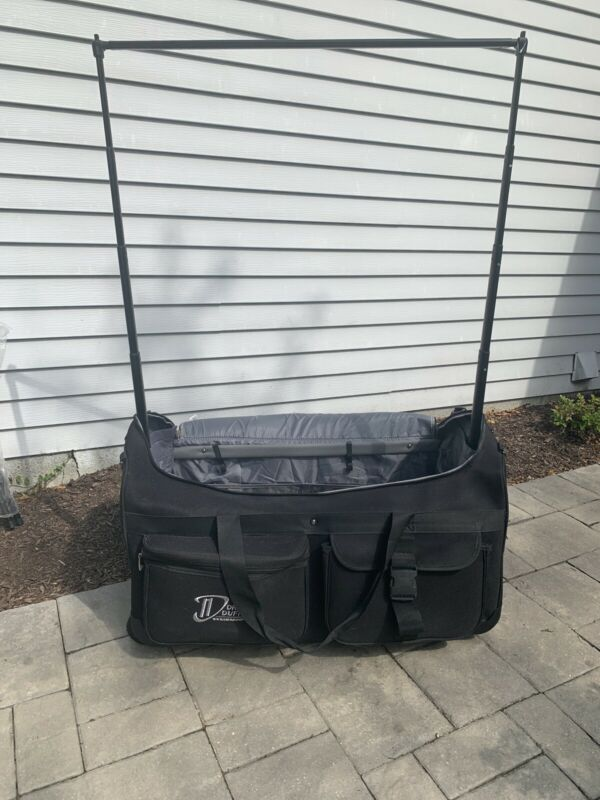 Large Dream Duffel Dance Competition Rolling Bag With Stool