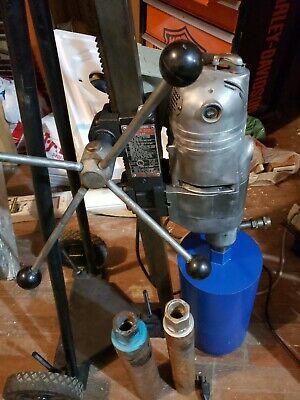 Milwaukee 4110 Vac-u-rig 4030 Core Drill 2-12-8 Load Meter Local Pick Up