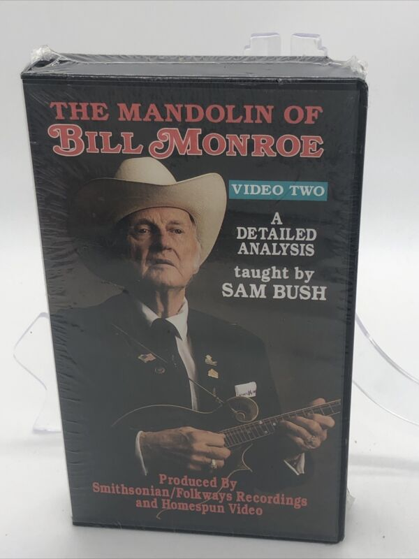 The Mandolin of Bill Monroe taught by Sam Bush Video Two VHS
