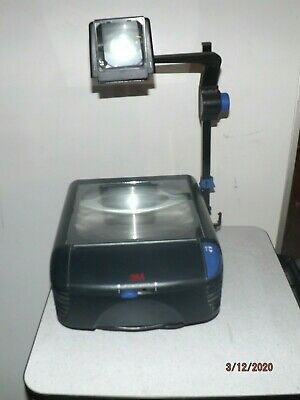 3m 1800 Overhead Projector 1800ajb Lightweight Fold-able New Bulbs