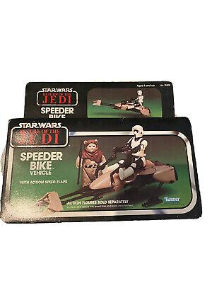Vintage Star Wars Speeder Bike Vehicle Kenner ( Return Of The Jedi 1983 )